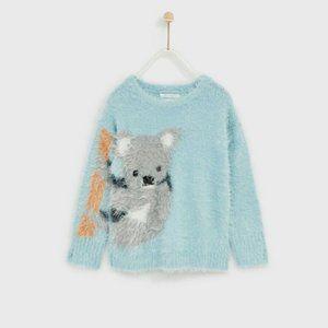 Zara Fancy Collection Koala Sweater